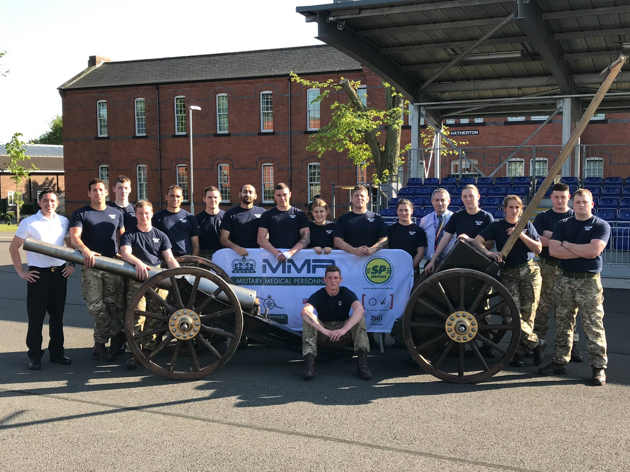 Steve Bray & the 2017 Field Gun Crew from DMS Whittington