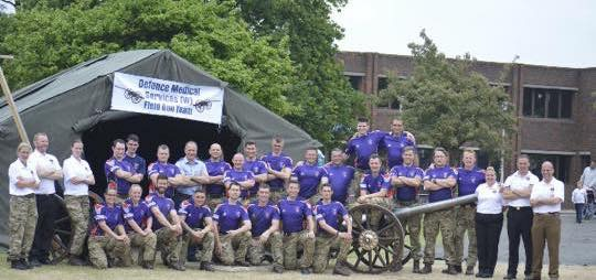 Defence Medical Services (Whittington) Field Gun Team
