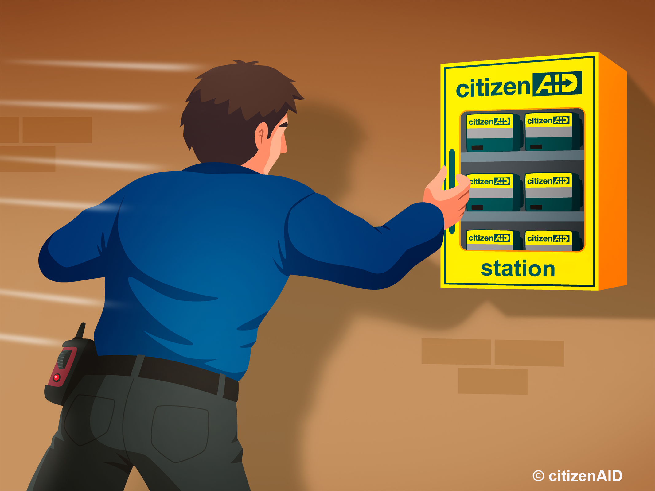 citizenAID Wall Mounted Cabinet