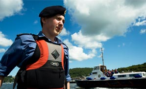 Sea Cadets Supported by SP Services