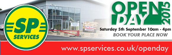 SP Services - Open Day Saturday 5th September 2015