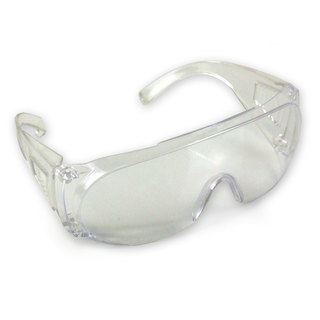 WARRIOR SAFETY SPECS WITH CLEAR LENS