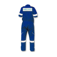 Ambulance Coverall Short Sleeve - Royal Blue - XL